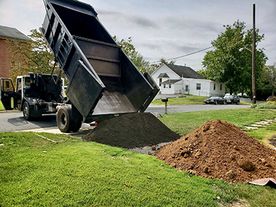 Dirt Split Load Delivery Maryland 2